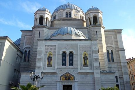 trieste église orthodoxe sainte trinité saint spiridon