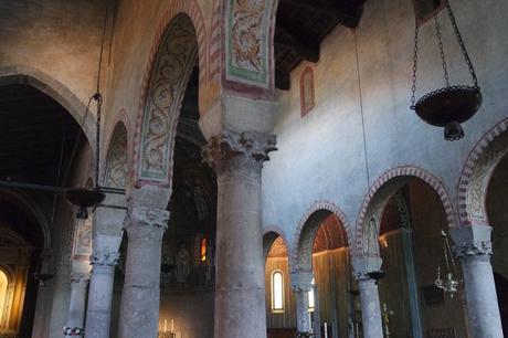 trieste cathédrale san giusto intérieur