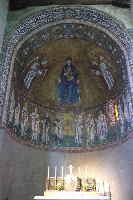 trieste cathédrale san giusto intérieur mosaïques
