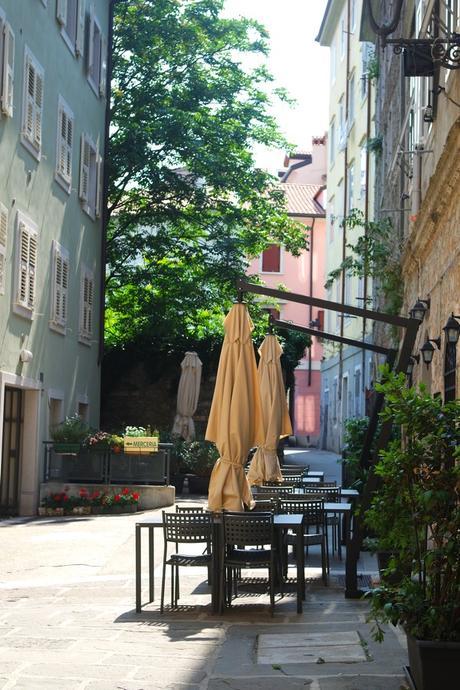 trieste rue vieille ville