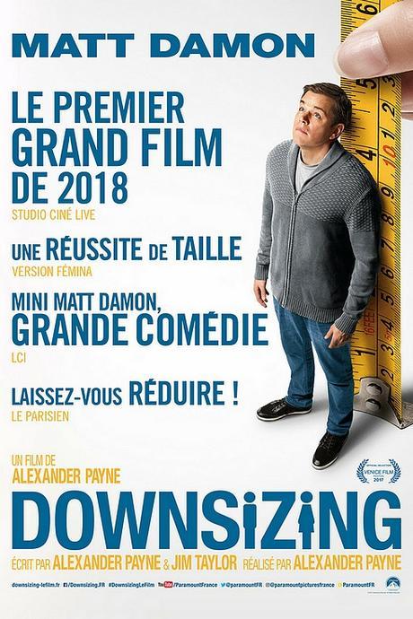 Cinéma : mon avis sur le film Downsizing ! Top ou flop ?