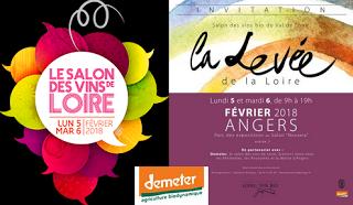Salons à Angers : Vins de Loire, Levée de la Loire et Demeter