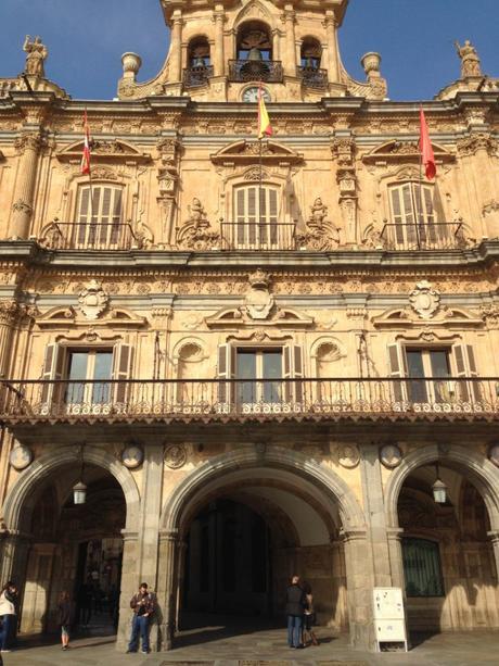 L'année d'Eva à Salamanque, Espagne