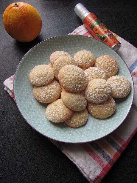 Biscuits moelleux à l'huile d'olive à l'orange.