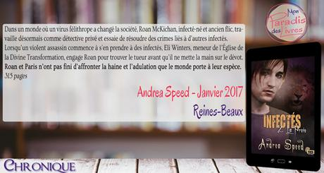 Infectés #2 – La proie – Andrea Speed