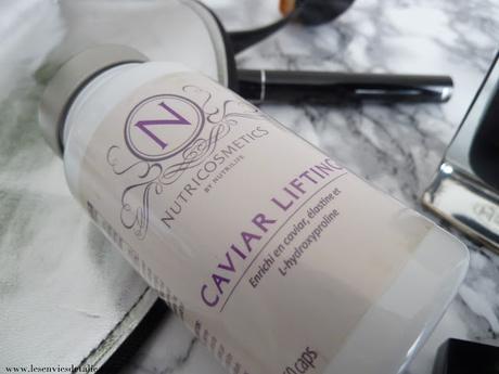 Mon menu peau parfaite - Nutricosmetics Caviar Lifting - Nutrilife