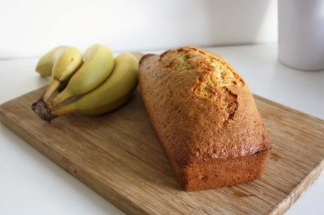banana bread cake banane healthy food