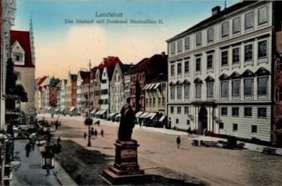 La visite du roi Louis II à  Landshut le 12 août 1869