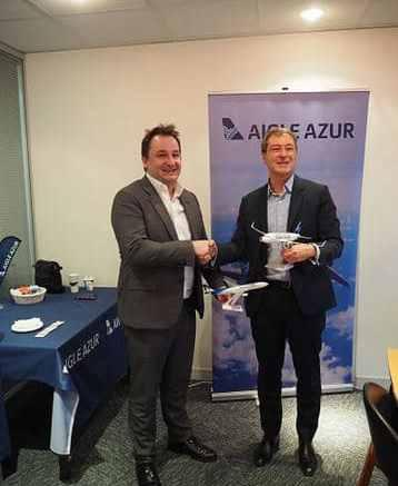 Aigle Azur et Corsair International signent leur accord de code-share