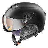 Uvex HLMT 300 Visor Casque de ski Noir Mat Taille 57-59
