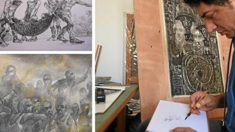 Najah Albukaï, raconte en dessins, l'enfer des geôles syriennes