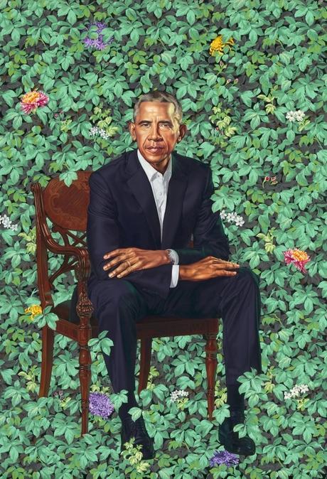 Barack et Michele Obama à la National portrait gallery de Washington