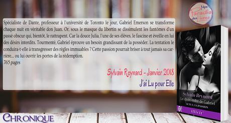 Le divin enfer de Gabriel, Acte 1 – La Passion – Sylvain Reynard