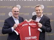 Courtyard Marriott partenariat avec Bayern pour offrir hôtes sièges premier rang