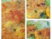 Galettes d'avoines (sans gluten) courgettes tomates séchées
