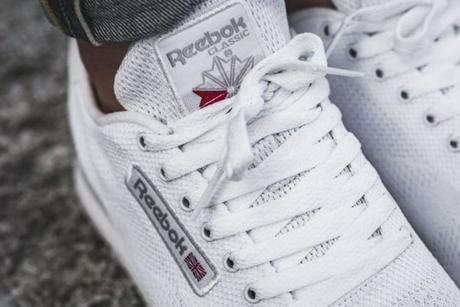 Une Reebok Classic Leather Ultraknit White aux allures de running