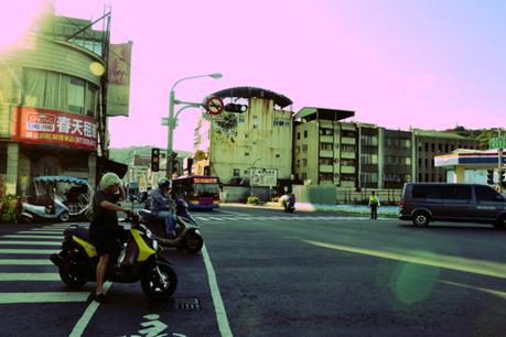 Virée en scooter à Taïwan