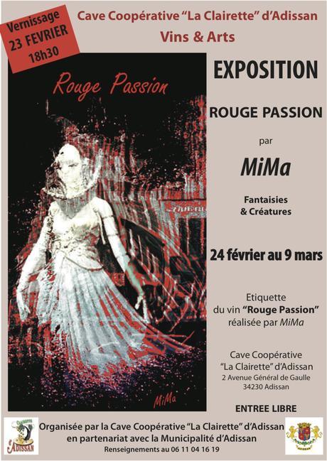 ADISSAN – «Rouge Passion» MIMA exposition – 23 février/9 mars