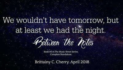 Découvrez le résumé de Between the Notes de Brittainy C Cherry à paraître en avril