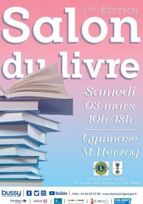 Prochaine dédicace à Bussy-Saint-Georges [ici]