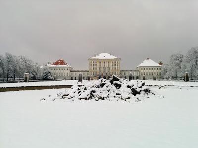 Promenade hivernale au château de Nymphenburg. 18 février 2018.