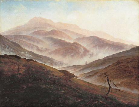 caspard-david-friedrich,romatism,painting,landscape