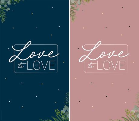 De l'amour toute l'année… Fond d'écran Love to Love ♥