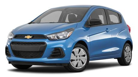 Mitsubishi Mirage 2018, Chevrolet Spark 2018 et Nissan Micra 2017