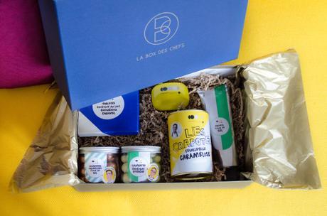 Les chefs s'invitent chez nous, avec une Box conçue par Clotilde Roux