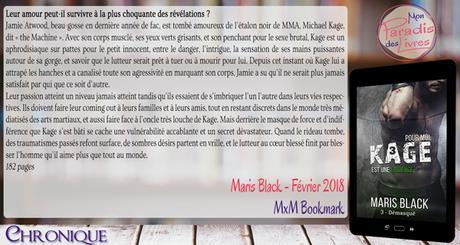 Kage 3 – Démasqué – Maris Black