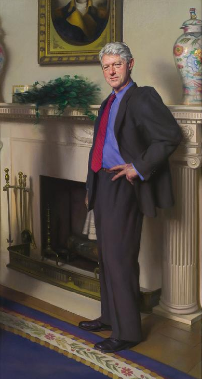 Bill Clinton (Nelson Shanks)