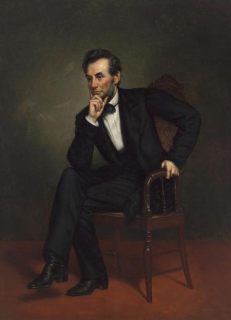 Abraham Lincoln (George Peter Alexander Healy) ; Grover Cleveland (Anders Leonard Zorn) ; Herbert Hoover (Douglas Granville Chandor) ; George W. Bush (Robert A. Anderson) ; Barack Obama (Kehinde Wiley) ;