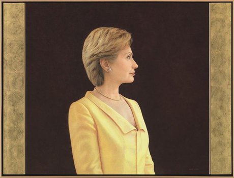 Hillary Clinton (Ginny Stanford) ; Laura Bush (Aleksander Titovets) ; Michelle Obama (Amy Sherald)