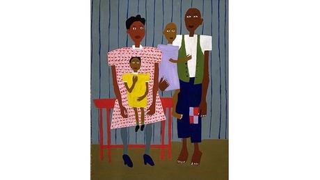 Folk Family, William H. Johnson