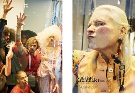 Chloë Sevigny, provocante dans la nouvelle campagne Vivienne Westwood
