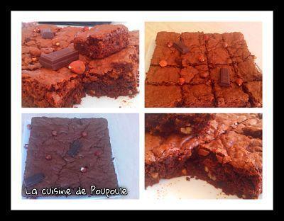 Brownie sans gluten au thermomix ou sans