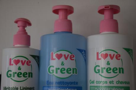 Test : Les cosmétiques Love & Green