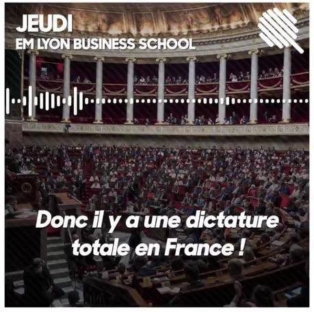 Dictaphone vs dictature