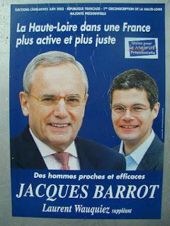 Laurent Wauquiez : Jacques Barrot doit se retourner dans sa tombe.