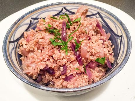 Purple Lutsubo express – Quinoa au chou rouge