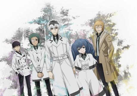 Une date de lancement pour la série animée Tokyo Ghoul:RE