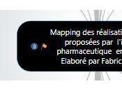 Mapping réalisations digitales proposées l'industrie pharmaceutique France- février