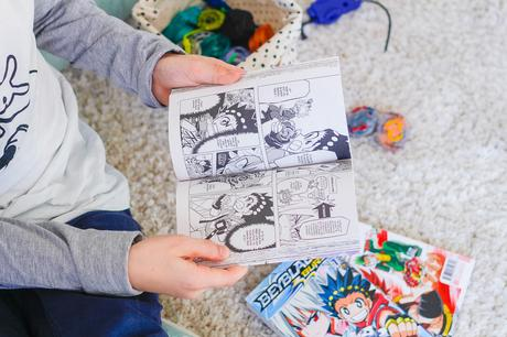 [ Manga ] Beyblade Burst / Tome 1 à 3