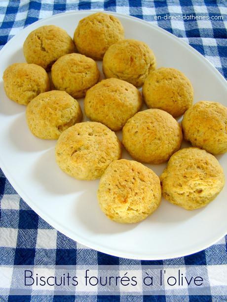 Les biscuits fourrés à l'olive ou une recette vegan pour bien démarrer le Carème