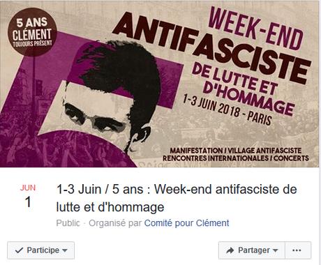 ►5 ANS : CLÉMENT TOUJOURS PRÉSENT◄ #antifa