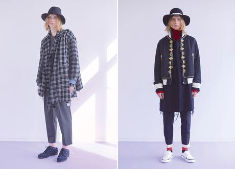 JOHNUNDERCOVER – F/W 2018 COLLECTION LOOKBOOK
