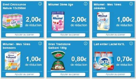 Coupons, bons de réductions sur le site enviedebienmanger.fr