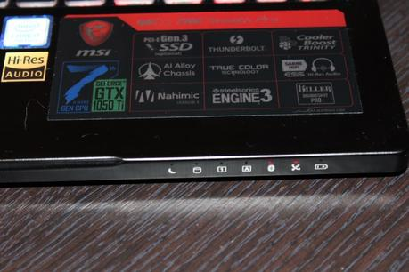Test MSI GS63 7RE Stealth Pro Screen12