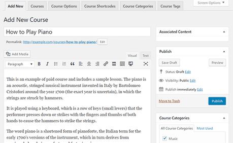 Comment créer un cours en ligne avec WordPress en utilisant LearnDash ?