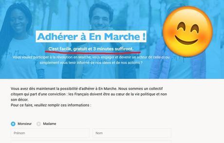 «Adhésion en un clic»: Comment La France insoumise et En Marche ont bouleversé le statut du militant